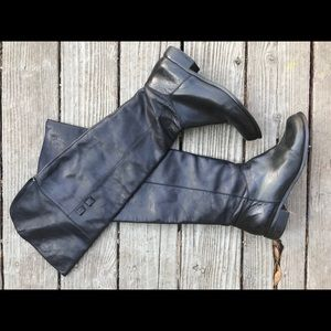 BCBGeneration over the knee black boots